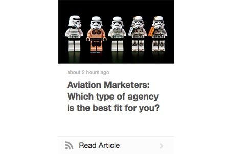 Aviation Marketers: Which Agency type is the best fit for you ?
