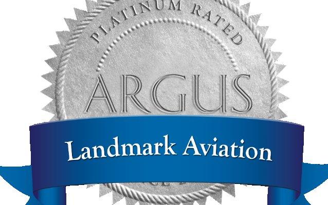 Landmark Aviation earns ARGUS CHEQ Platinium rating