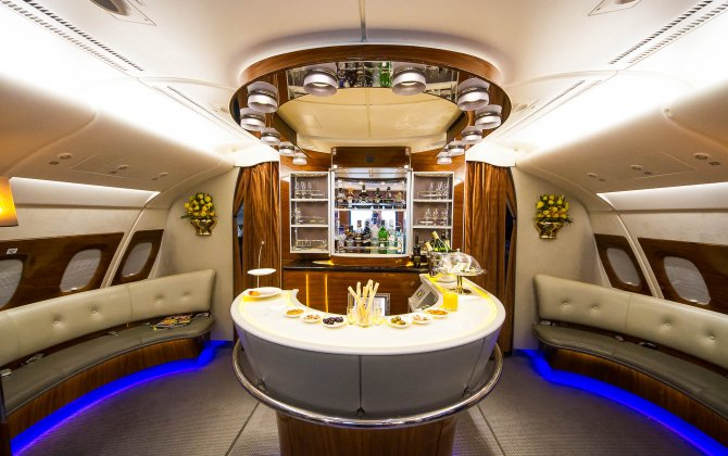 Emirates takes delivery of first two-class Airbus A380