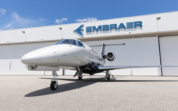 600th Embraer Phenom 300 series aircraft delivered