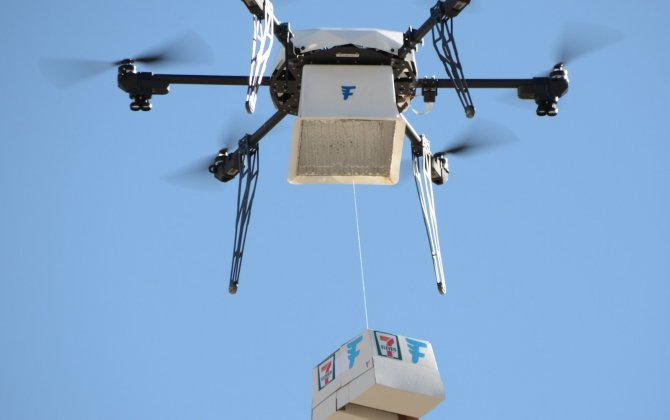 7-Eleven Teams with Flirtey for First Ever FAA-Approved Drone Delivery to Customer's Home