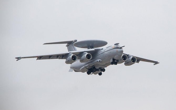 A-100 AWACS aircraft makes first flight undergoing new stage of trials