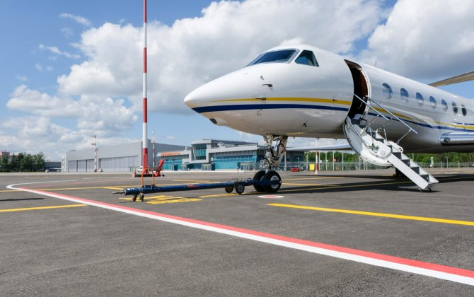 A-Group: A new business aviation apron is opened