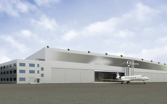 A-Group launched new hangar construction in Sheremetyevo