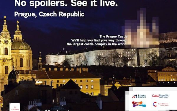 A New Campaign in the New York Center to Promote Incoming Tourism from the USA to the Czech Republic