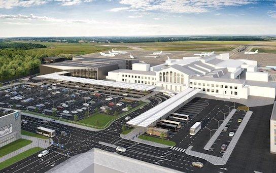 A new passenger departures terminal at Vilnius Airport