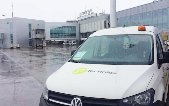 A new S7 Technics line station at Pulkovo Airport