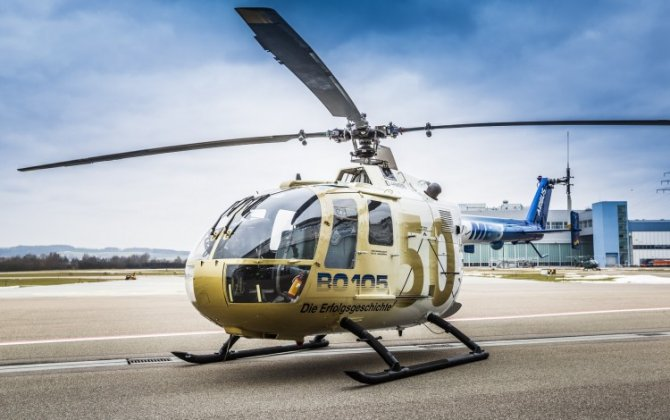 A pioneer of modern helicopter technology: the BO105 celebrates its 50th birthday