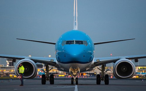 A record number of passengers carried by KLM in 2019