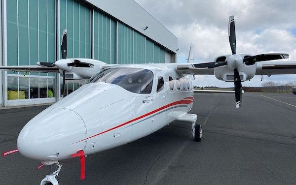 A TECNAM P2012 Traveller is ready for demo and display at Air Alliance