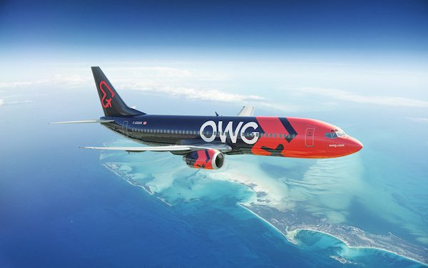 A unique travel experience - launch of a new airline: OWG
