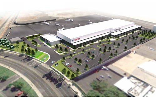 A view to sustainability - Jet Aviation' new Van Nuys FBO and hangar facility