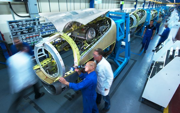 A worldwide reorganization of GKN Aerospace