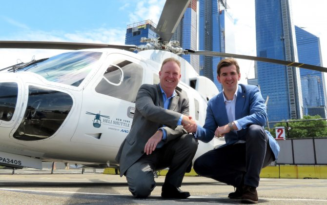 AAG and London Biggin Hill bring US and UK closer together with New York Heli Shuttle