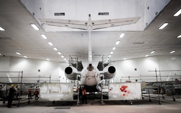ABS Jets conducts smooth 192-month inspection of Embraer Legacy 600