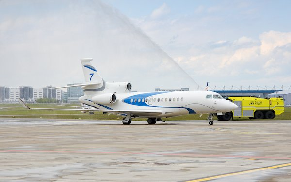 ABS Jets welcomed first Czech registered Falcon 7X