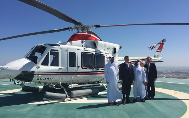 Abu Dhabi Aviation's Bell Helicopter fleet reaches one million hours of operation