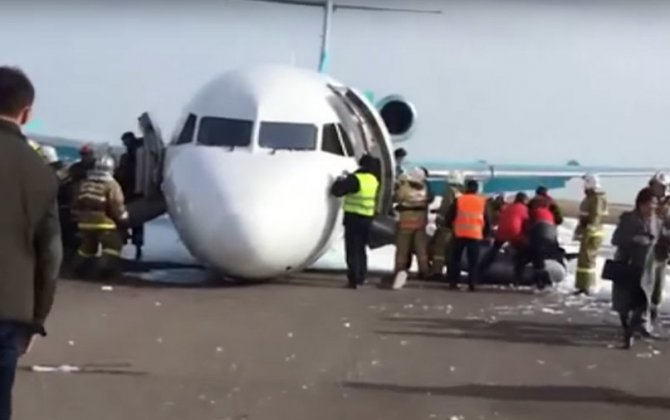 Ace pilots belly land passenger jet in Kazakhstan, all 116 passengers safe