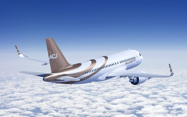 ACJ at EBACE Connect 2021 - order for the ACJ319neo & partnership with Latécoère