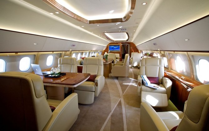 "ACJ319 ""best in class"" cabin is highlighted at Dubai show"