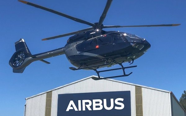 Advanced Flight of New Zealand took delivery of first five-blade Airbus ACH145 helicopter