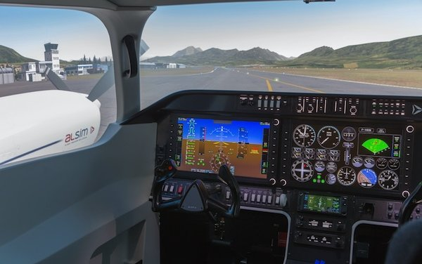 Advanced research flight simulator for the University of Waterloo