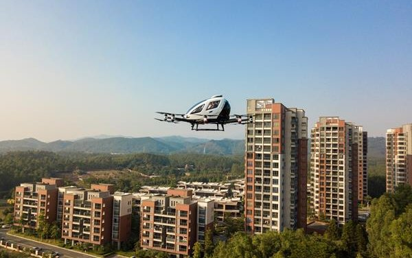 Aerial Tourism Services : launched by EHang with strategic partner Greenland Hong Kong