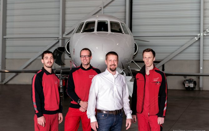 Aero-Dienst Vienna Appointed Falcon Authorized Service Center