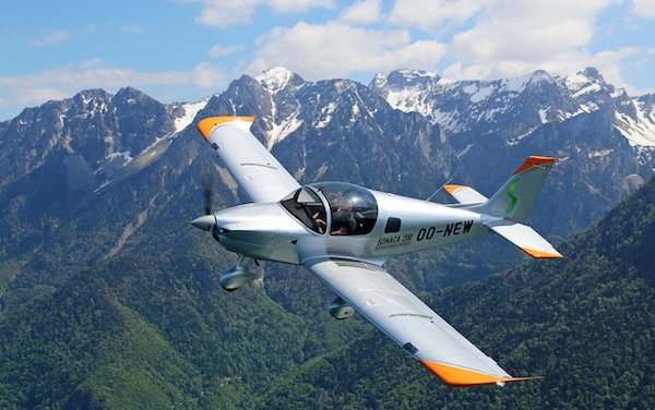 Aero Locarno signed an agreement for the purchase of 5 Sonaca 200 aircraft