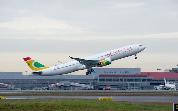 Africa's first A330neo received by Air Senegal