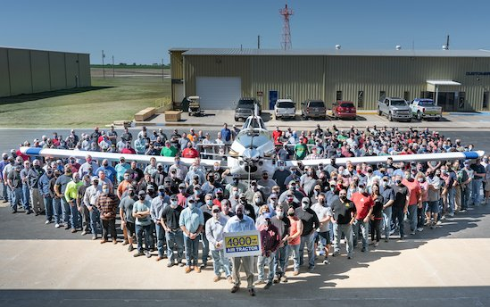 Ag Aircraft Manufacturer produces 4,000th airplane