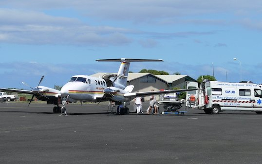 Air Archipels to get first cargo door equipped Beechcraft King Air 260C for medical service