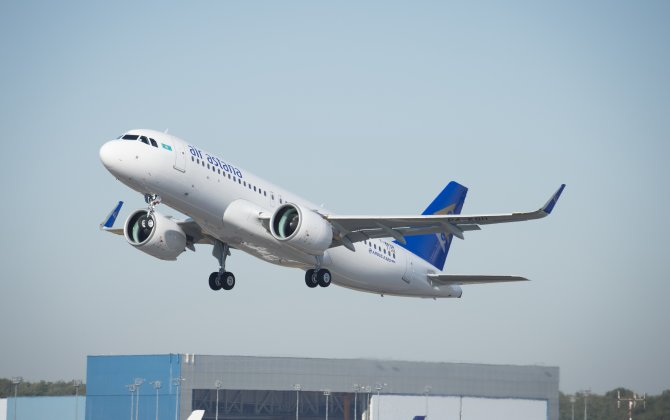 Air Astana takes delivery of its first A320neo