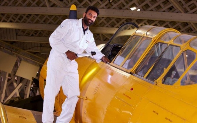 Air BP sponsors new Collections Care Technician  at RAF Museum