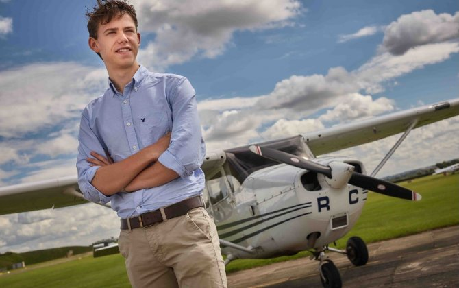 Air BP's Sterling Pilot Scholarship gains momentum as third awardee is announced
