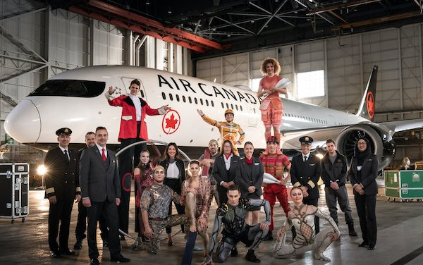 Air Canada becomes Official Airline of Cirque du Soleil