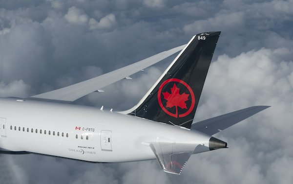 Air Canada begins Cargo-only flights carrying vital supplies, necessary goods