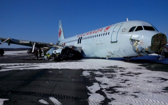 Air Canada Flight 624 crash passengers say they have PTSD