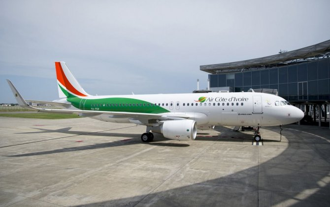 Air Côte d'Ivoire receives its new A320 at a colourful ceremony in Toulouse