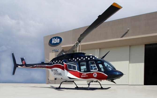 Air Evac Lifeteam sign contract renewal with Able Aerospace Services