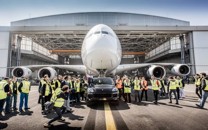Air France and Porsche GB set a new Guinness World Records title