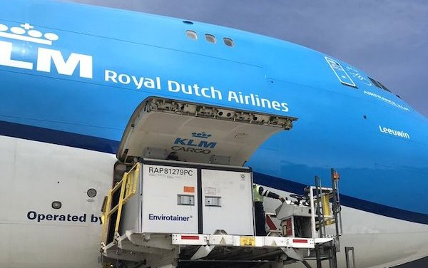Air France KLM Martinair Cargo ready to transport COVID-19 vaccines