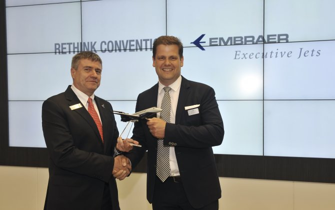 Air Hamburg orders one more Embraer Legacy 650 business jet