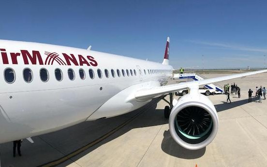 Air Manas enters service with first Airbus A220 powered by Pratt & Whitney GTF engines