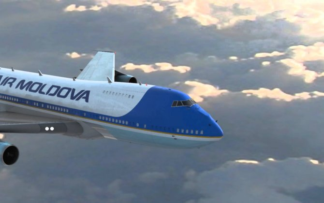 Air Moldova - more than one million passengers in 2015