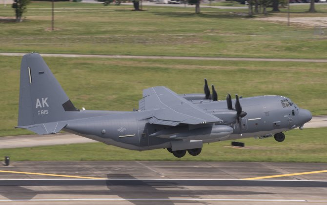 Air National Guard Receives First HC-130J Combat King II