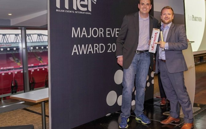 "Air Partner named ""Best Executive Travel Solutions Provider""  at Major Events International (MEI) Summit"