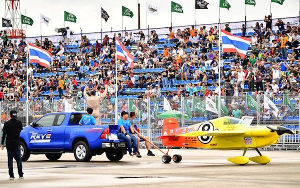 Air Race 1 roars into action at San Angelo for high-octane Halloween meeting in Texas