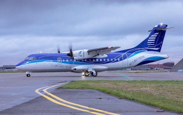 Air Saint-Pierre took delivery of a new ATR 42-600