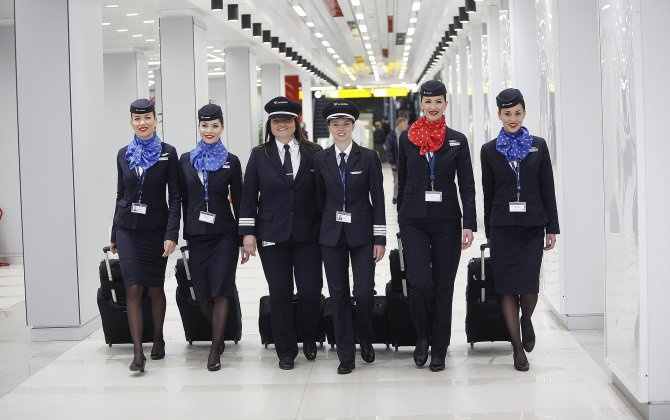 Air Serbia makes history with first all-female in-flight crew